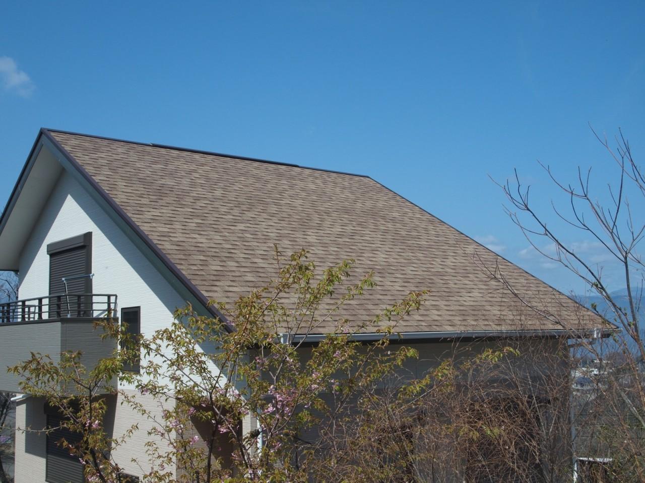 屋根シングル葺き(熱海市)